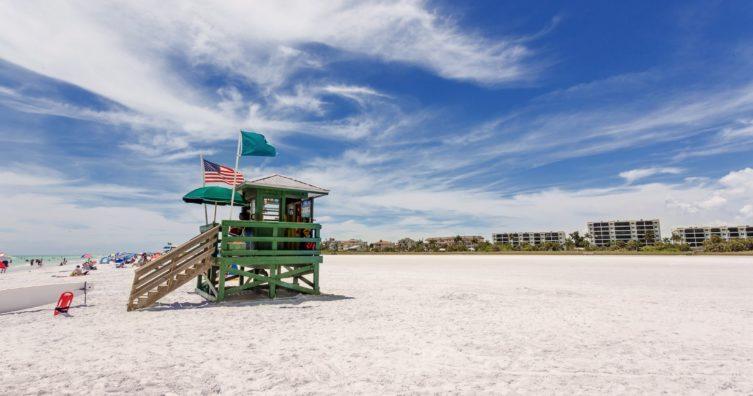 Clima en Sarasota, Florida: clima, estaciones y temperatura media mensual