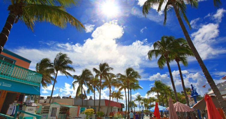 Clima en Fort Myers: clima, estaciones y temperatura mensual promedio