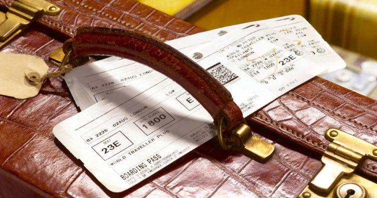 Qué significan las cartas de clase de servicio de pasajes aéreos