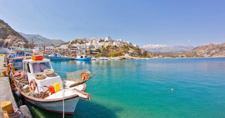 Clima en Creta: clima, estaciones y temperatura media mensual