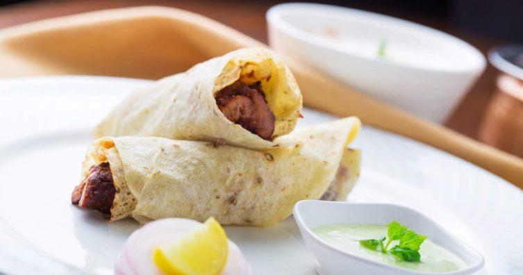 Los mejores rollos de kathi en la india