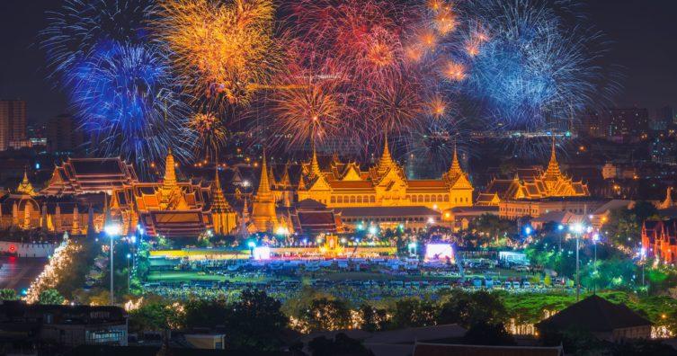 Cumpleaños del rey en Tailandia