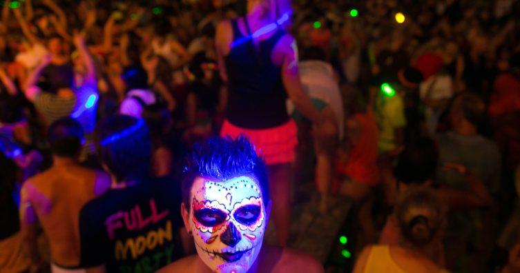 Fiestas de luna llena en Tailandia