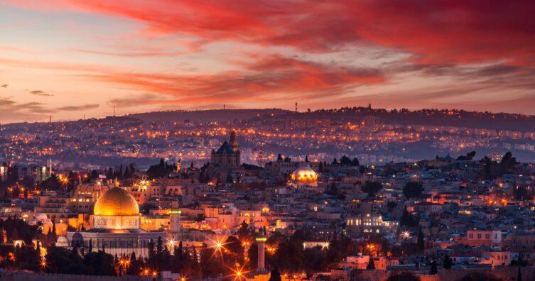 Los 15 destinos principales en Israel