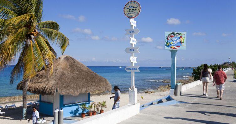 Cómo viajar de Cancún a Cozumel